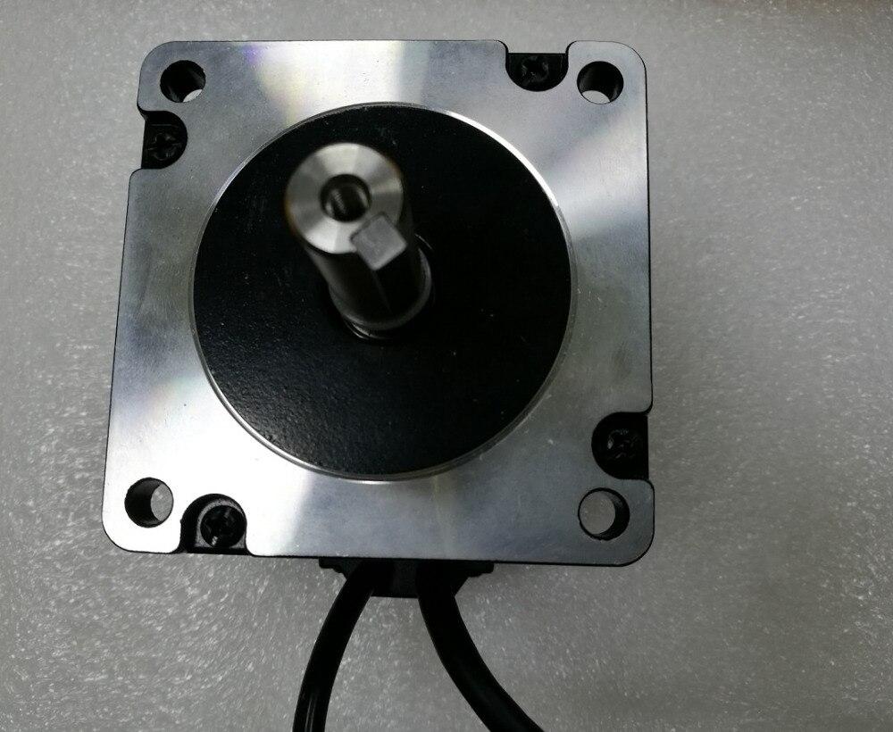 Leadshine-محرك متدرج حلقي مغلق 450 واط ، 86CME45-BZ NEMA34 ، جهاز تشفير 1000 خط مع فرامل 4.5NM ، عمود 14 مللي متر ، جديد