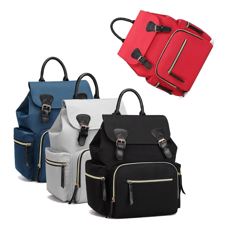 2019 new Mummy bag shoulder multi-function waterproof mother and child pregnant women out of the