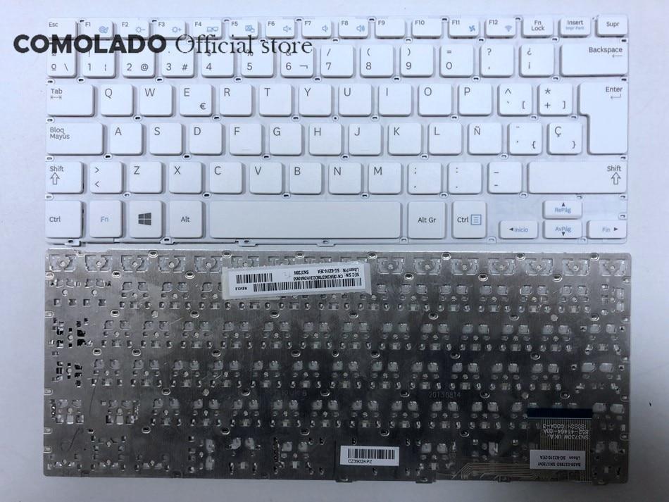 Teclado español SP para SAMSUNG 905S3G 915S3G NP915S3G NP905S3G diseño de teclado de computadora portátil blanco SP