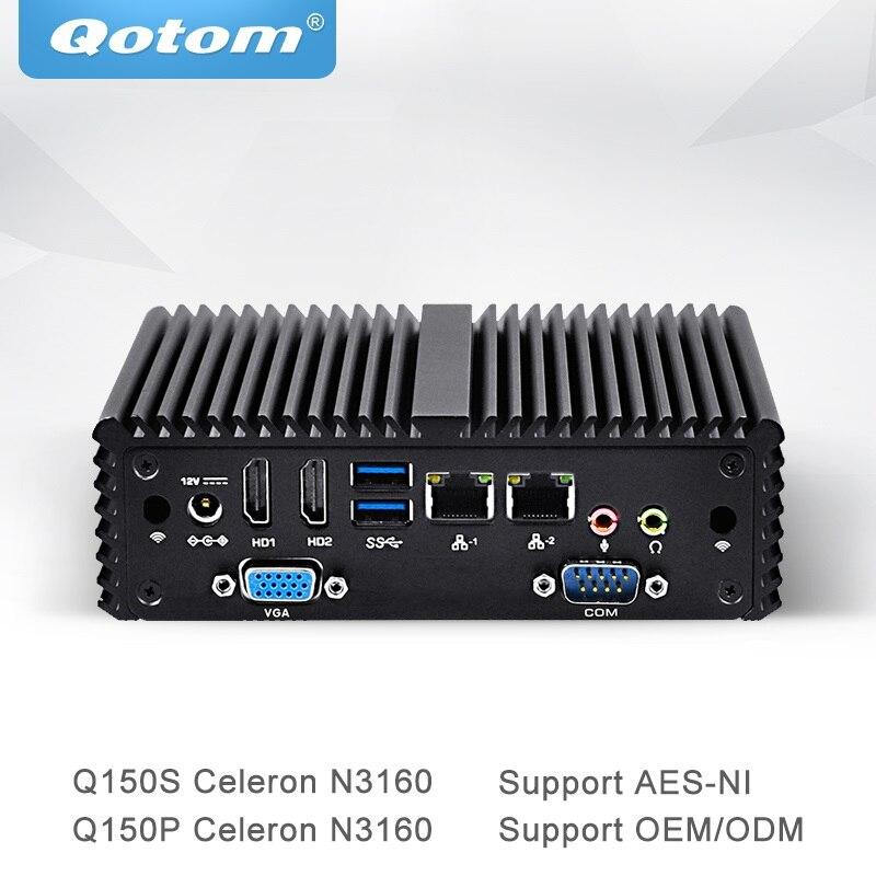 qotom-mini-pc-with-aes-ni-quad-core-celeron-n3160-fanless-dual-gigabit-nic-computer-q150