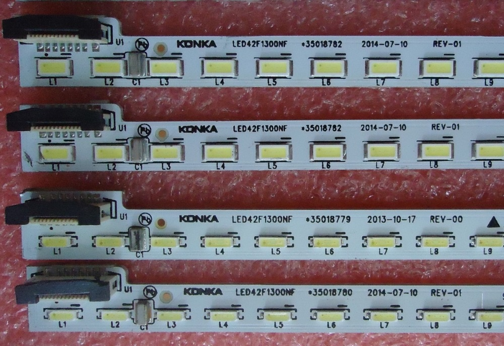 led backlight screen35018781 LED42F1300NF 35018780 35018779 35018782 1pcs=72led 535mm