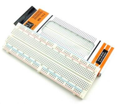 Для Arduino MB102 Макет 830 Точка Solderless diy электронная макетная плата MB-102 макетная плата для тестирования шины
