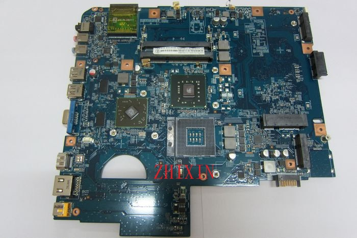 Yourui ل JV50-MV 48.4CG08.011 لشركة أيسر أسباير 5738 اللوحة الأم للكمبيوتر المحمول MBP5601017 PM45 DDR3 اللوحة الرئيسية وحدة المعالجة المركزية الحرة