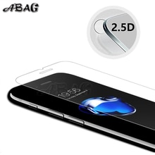 glass on for iphone 5s Tempered glass protective glass for iphone 6 7 8 plus2.5d 9h film case for ip