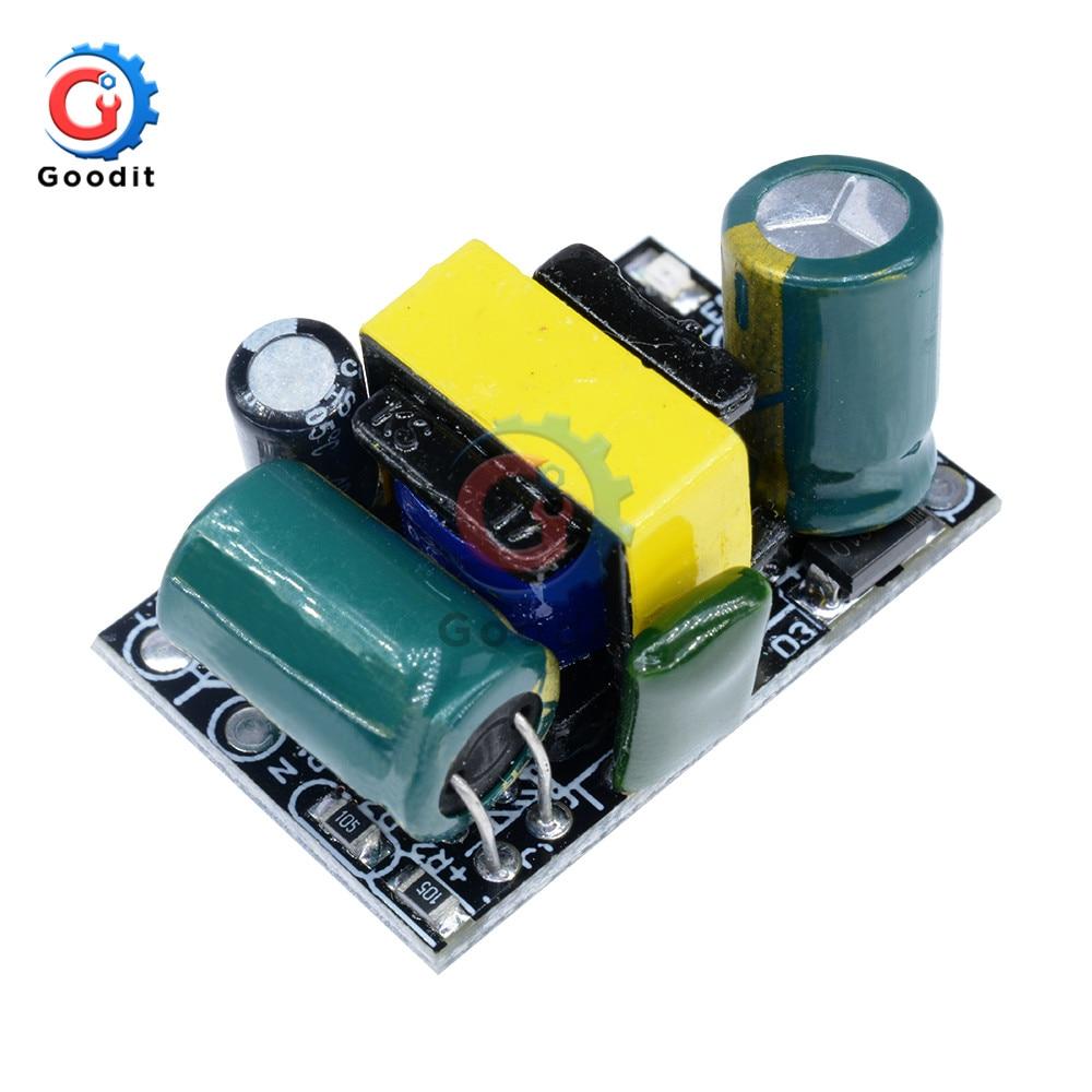 Módulo de fuente de alimentación de transformador reductor de ca de 220V a 5V cc, para Arduino AC-DC, 5V, 700mA, 3,5 W, convertidor Buck de precisión