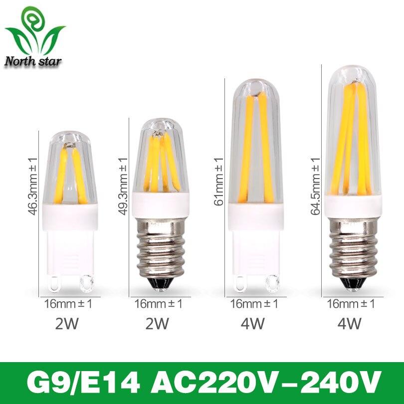 Best quality guarantee 2years G4 LED Bulb G9 LED Bulb E14 G9 Filament Light AC220V g9 e14 corn Bulb Lamp 1.5W 2W 4W Light Lamp