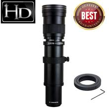 JINTU 420-800mm f/8,3 HD teleobjetivo con Zoom para Olympus E-5 E-520 E-510 E-500 E-450 E-420 E-410 E-400 E-330 cámara Digital SLR