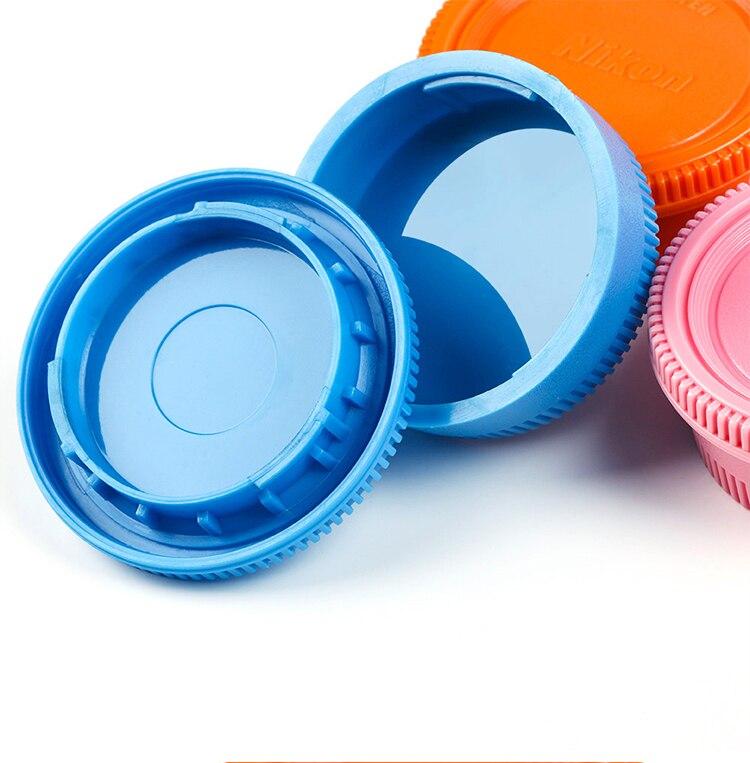 Color de tapa de lente trasera/cubierta + Cuerpo de Cámara tapa para NIK AI f montaje de d3 d5 d90 d300 d600 d800 d850 D3200 D5100 D5500 D7100 D7200 Cámara