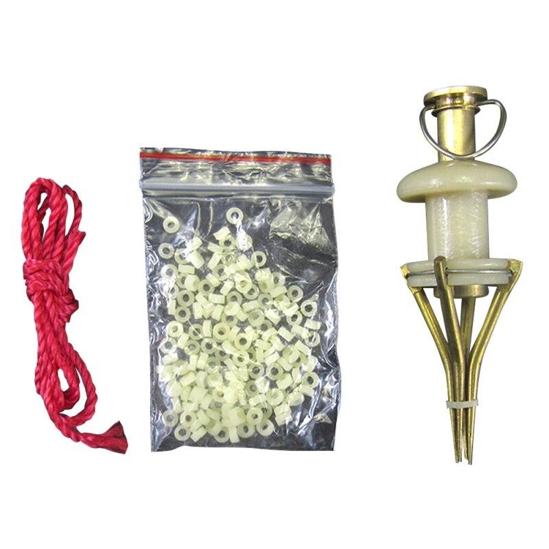 Карп рыболовные медные детали, приманка для кровяного червя, гранулы, зажим для карпервиссена, гранулы, инструмент загрузки червя лобвя