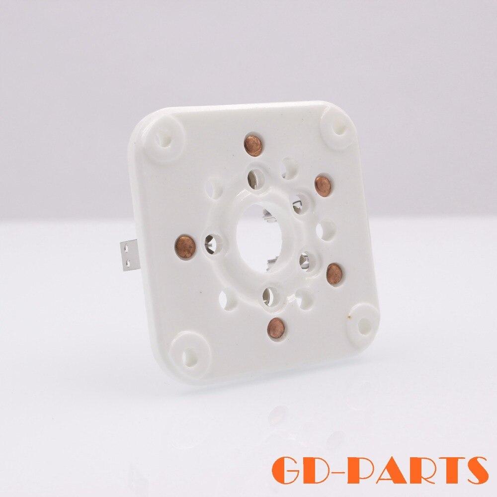 PC U5G 5pin Ceramic Tube Socket Valve Base for 4-400A 4-125 3-500Z 4-400 Chassis Mount