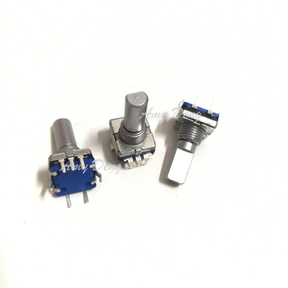 50 قطعة/الوحدة EC11 الروتاري التشفير و اليسار واليمين rotaon من إعادة التبديل detecon التبديل rotaon محور 18 مللي متر