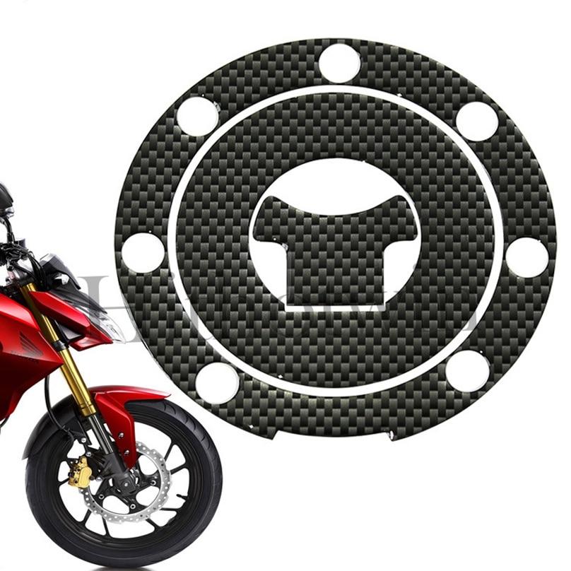 Наклейка на крышку топливного бака протектор 3D углеродное волокно светоотражающий для Honda CB190r топливный бак крышка мотоцикла модифицированный топливный наклейки