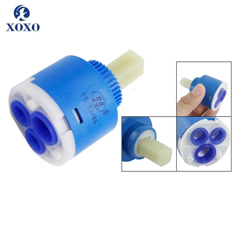 35mm/40mm cartuchos para grifo de cocina cuenca bañera grifos agua cartuchos de cerámica agua Válvula mezcladora accesorios para grifos FX01