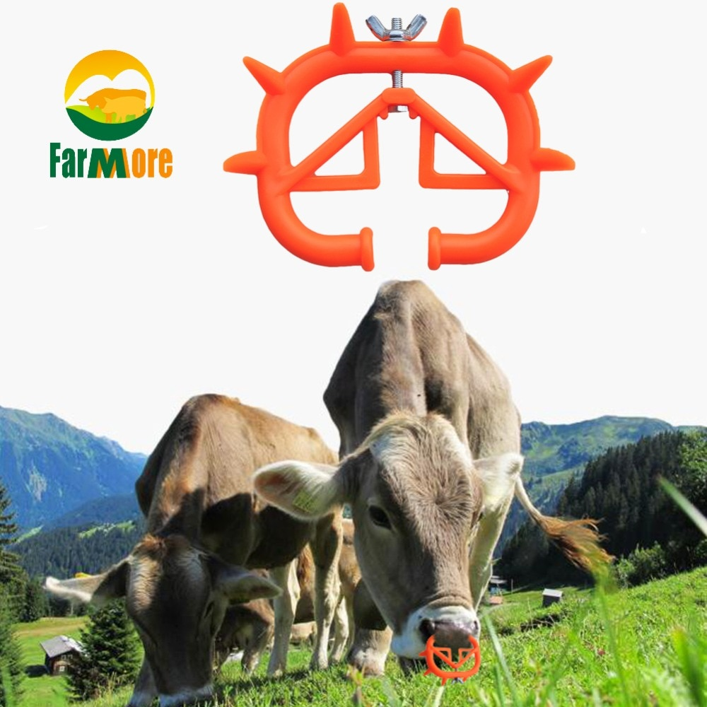 1Pcs Calf Weaner Milk Sucking Preventer Calf Nose Ring Cattle Nose Thorn Livestock Equipment