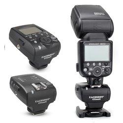Eachshot gt600n gt600 ittl 2.4 ghz 1/8000s flash gatilho para nikon flash shanny sn600n sn600sn meike MK-910