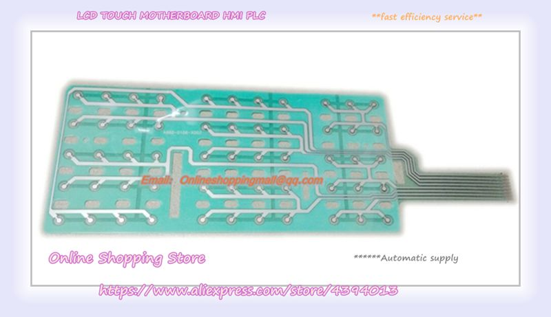 Novo teclado de membrana oferta original A860-0106-X002 A20B-2003-0780