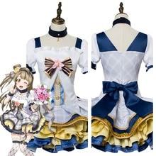 LoveLive Cosplay Costumes amour en direct Minami Kotori Cosplay Costume Bouquet fleurs idolâtré Costume