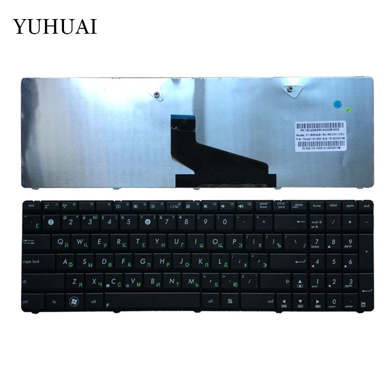 Russische Tastatur FÜR ASUS A53 A53T X53 X53B X53C X53T X73 N73 K73 K73T A53U X53Z X53BR X53E A53U A73TA a73TK SN7114 RU