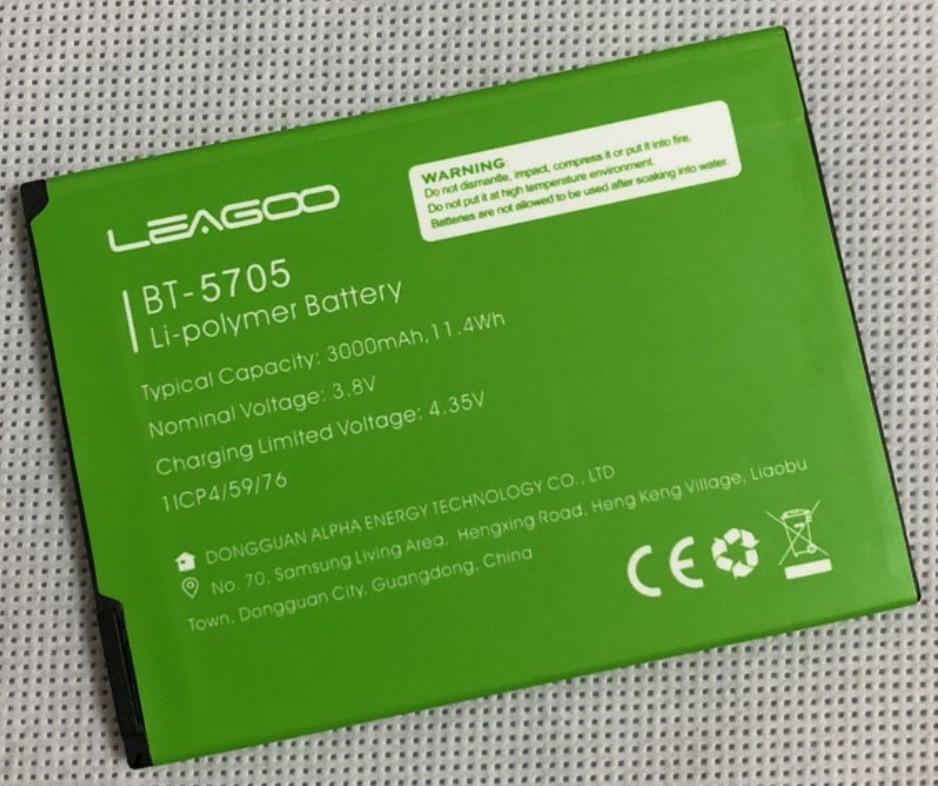 LEAGOO M9 BT-5705 Battery original 3000mAh replacement Backup Battery for LEAGOO M9 Pro Smartphone In Stock недорого