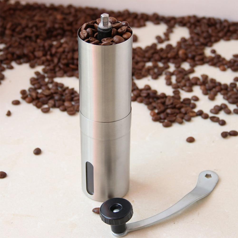 ручная кофемолка мини из нержавеющей стали ручной работы кофейные мельницы мельница кухонный инструмент мельница для