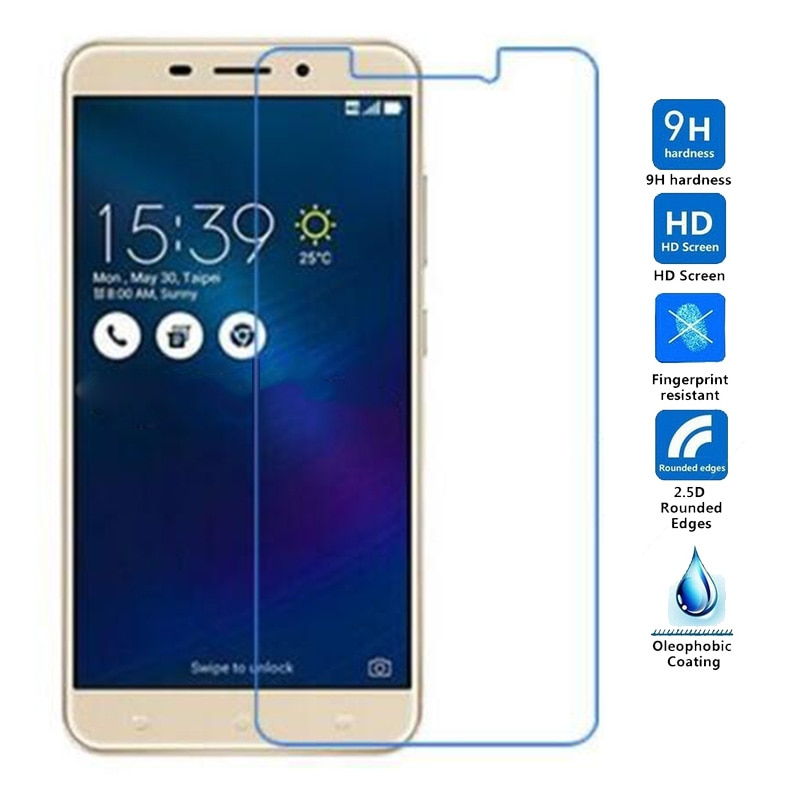 Protector de pantalla de vidrio templado para Asus Zenfone 3, láser, ZC,...