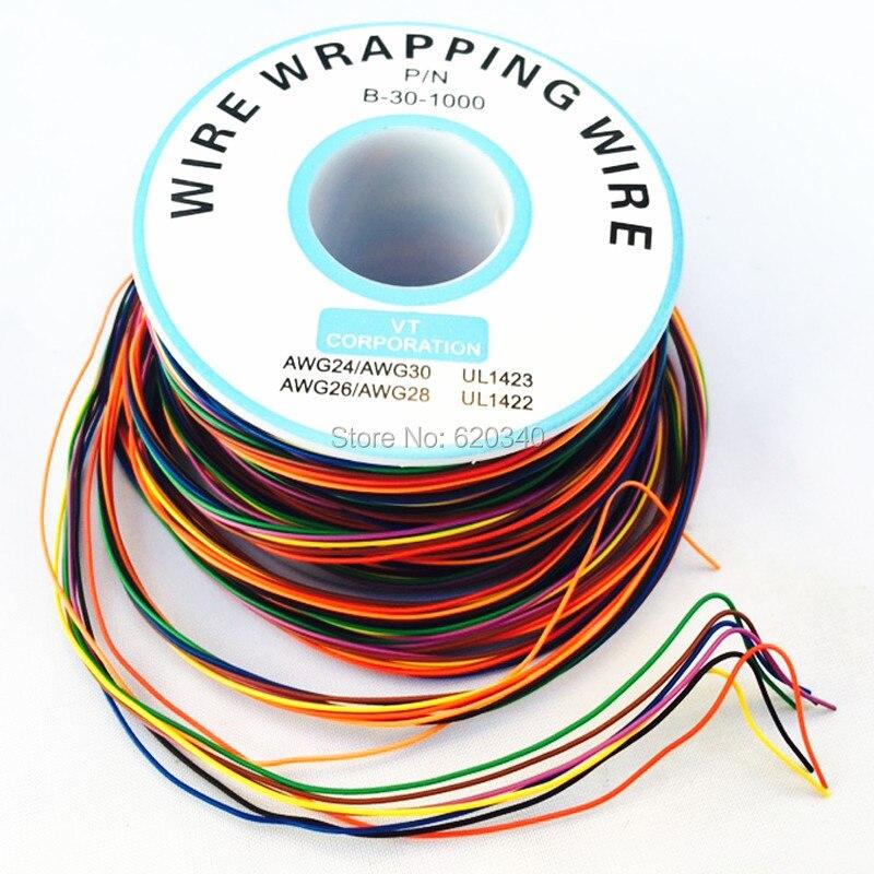 AWG30-Cable de cobre de una sola hebra para ordenador portátil, Cable eléctrico...