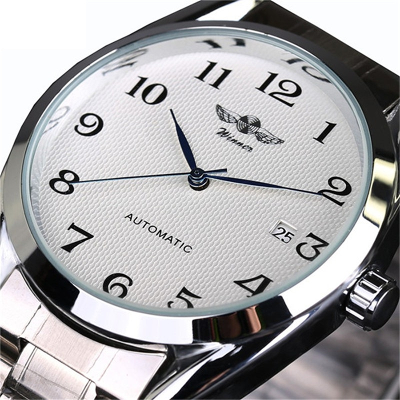 fashion mechanical watch men 46mm parnis top brand mechanical hand winding watches 6498 movement luminous numbers man clock Top Luxury Brand Men Automatic Mechanical Wrist Watches Stainless Steel Business man Watch Male Clock Business Men Wrist Watch