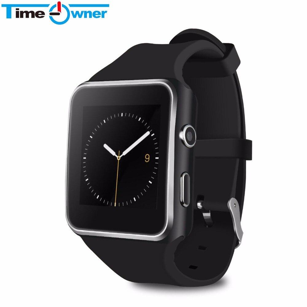 "TimeOwner teléfono inteligente 1,54 ""Pantalla táctil curva inteligente reloj Bluetooth teléfono podómetro Cámara SIM Antipérdida Relojes"