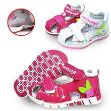 Sandales de soutien arc dété 1 paire   Chaussures orthopédiques antidérapantes pour filles, chaussures de Super qualité pour enfants/enfants à semelle souple