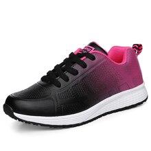 2019 nouvelles femmes Tennis chaussures confortables athlétiques baskets femmes léger chaussures de sport respirant maille gymnastique Fitness formateurs