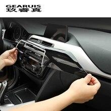 자동차 스타일링 전면 통풍구 공기 배출구 패널 센터 커버 스티커 트림 bmw 3 4 시리즈 3gt f30 f32 f34 인테리어 자동차 액세서리