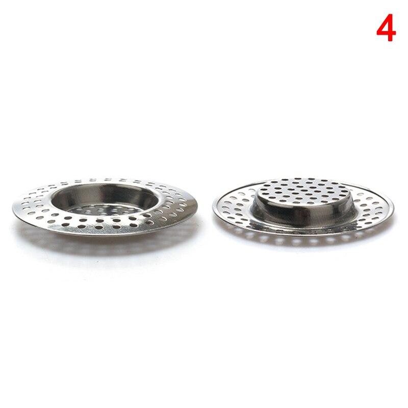 Filtro de drenaje de acero inoxidable para fregadero de cocina con gran borde ancho MAL999