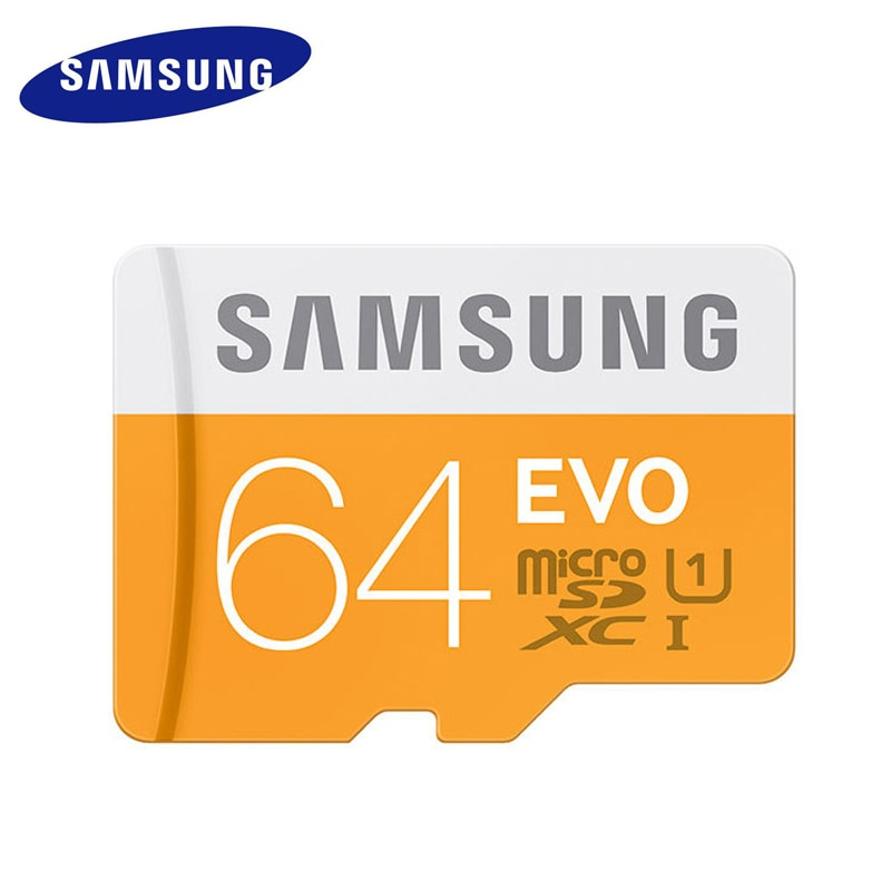 SAMSUNG карта памяти Micro SD Карты Памяти 64 ГБ 32 ГБ 16 ГБ MicroSD Карты SDHC SDXC Макс 48 М/с EVO Водонепроницаемый Класс 10 TF Trans Flash Микро карты
