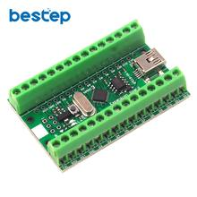 Carte dextension de Module Terminal CH340G CH340 Nano V3.0 ATMEGA328P Micro-contrôleur USB pour Arduino UART