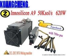 KUANGCHENG en stock 80-90% ancien mineur Zcash miner ZEC BTG Innosilicon Equihash A9 ZMaster 50k mines puissantes Z9 mineurs