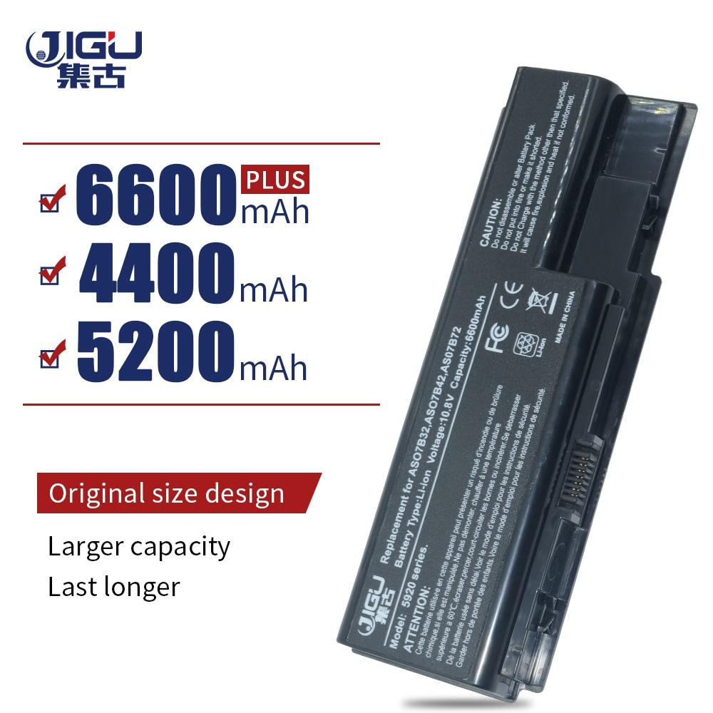 JIGU 6Cells Laptop Battery For Acer Aspire 5920 5920G 7330 7520 7530 7540 7720 7730 8730 Extensa 7230 7630 TravelMate 7230 7530