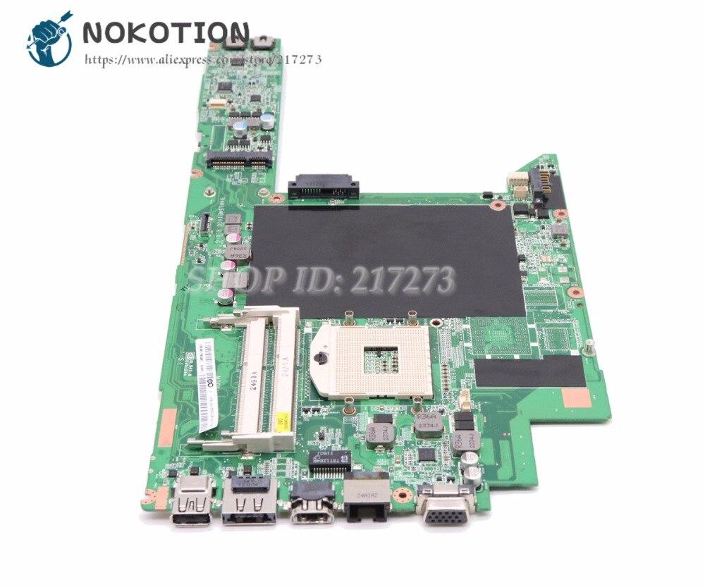 NOKOTION para Lenovo IdeaPad Z370 placa base portátil HM65 DDR3 HD300 DAKL5MB16G0 placa principal