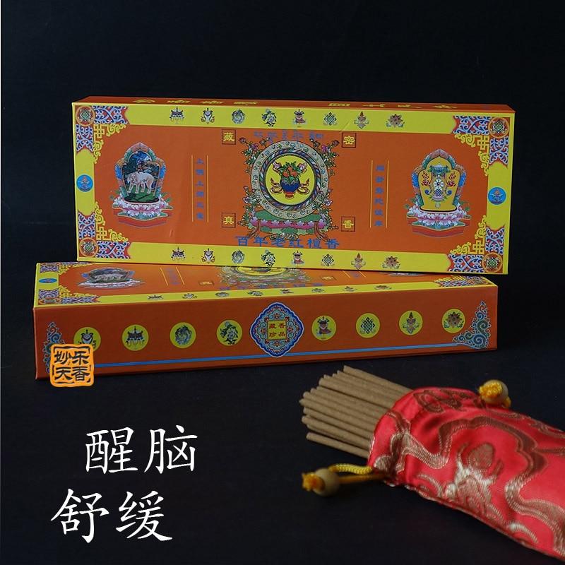 Varillas de incienso tibetanas hechas a mano, fórmula de la antigua farmacia...