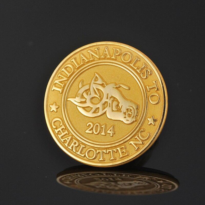 Se puede personalizar logo Insignia de Oro en relieve insignia conmemorativa anti-Medalla antigua fabricantes personalizados