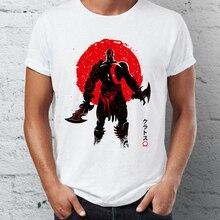 Men's T Shirt Kratos God of War Under the Sun Artsy Gaming Tee