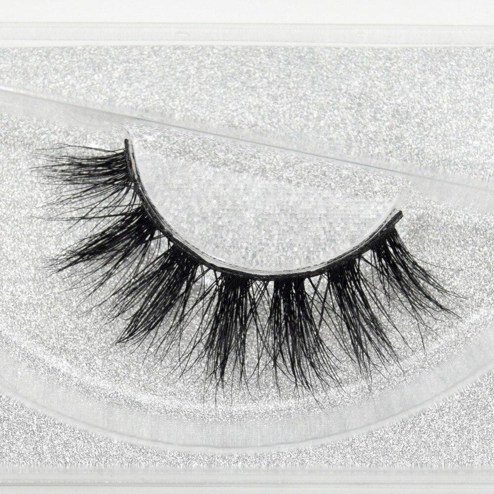 Visofree 100% ручная работа ресницы для глаз 3D настоящий норковый макияж Толстые Накладные ресницы с блестками упаковка D108