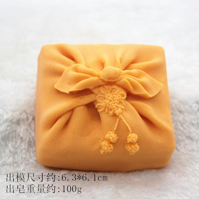 C870 caja de regalo molde de silicona coche aire incienso armario jabón herramienta molde para hornear
