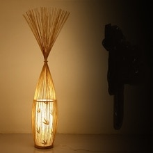 Style chinois créatif japonais lampadaire moderne simple bambou salon chambre club bambou lumière ZL253 LU717101