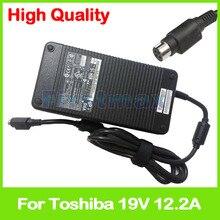 19 V 12.2A 230 W ordinateur portable adaptateur secteur chargeur PA3673E-1AC3 pour Toshiba Qosmio X200 X300 X305