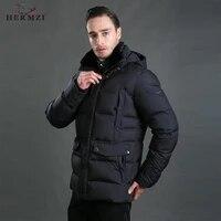 hermzi 2021 men winter jacket cotton padded jacket men winter coat parka hombre puffer jacket rex rabbit fur european size 4xl