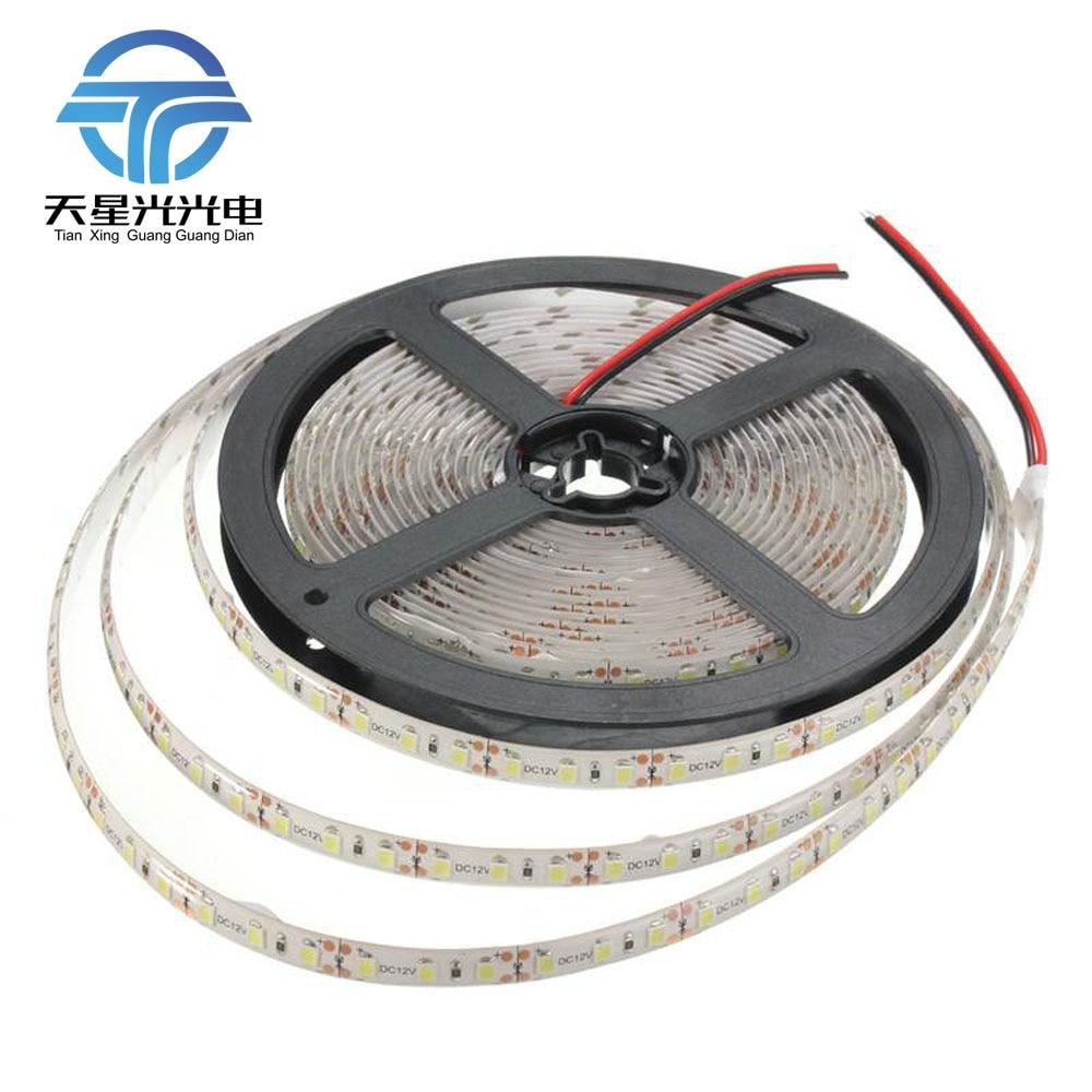 TXG gran oferta 48W DC12V 5M SMD2835 600led tira de luz Navidad cinta 3000-4200Lumen impermeable/no impermeable envío gratis