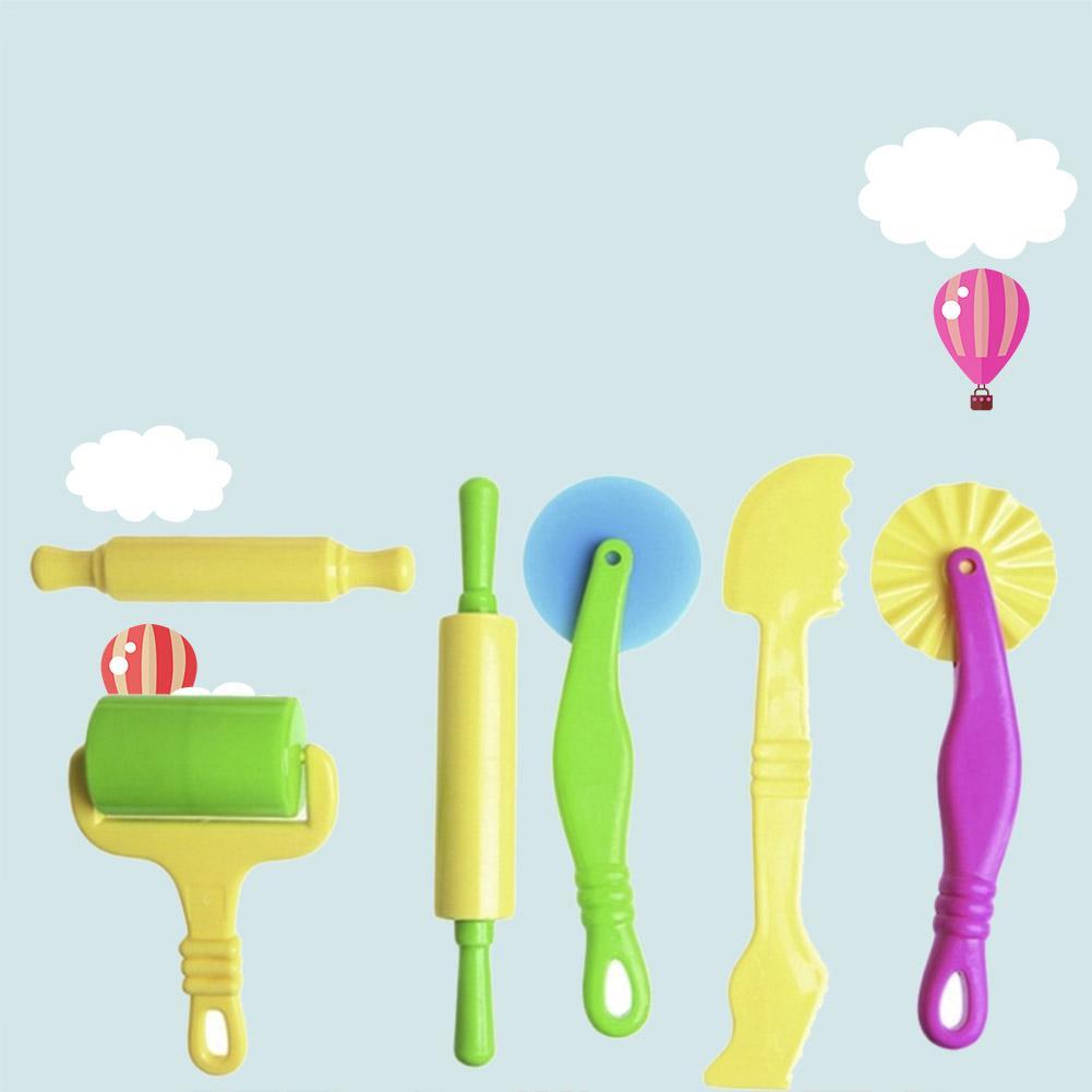 Accesorios de herramientas de plástico de Color para niños herramienta de barro de plastilina herramientas de plastilina de arcilla Ultra ligera