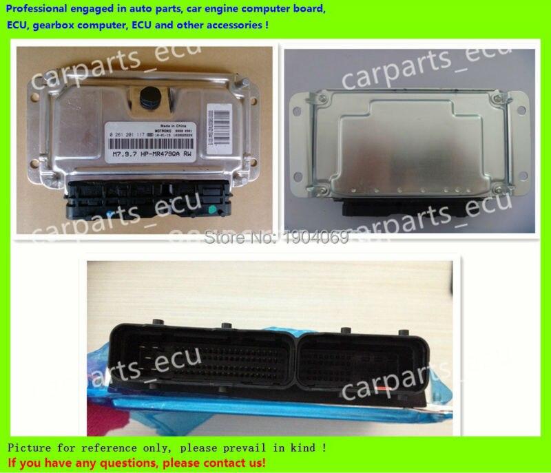 Para placa de ordenador de motor de coche/M7.9.7 ECU/unidad de Control electrónico/Chery/PC de coche/Beiqi Luba/0261201198/0 261 201 198