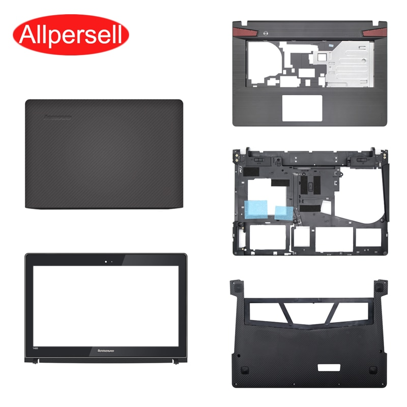 Laptop case For Lenovo Y400 Y410P Y430P Y400N Top cover/palmrest case/bottom shell/Hard Drive Cover/