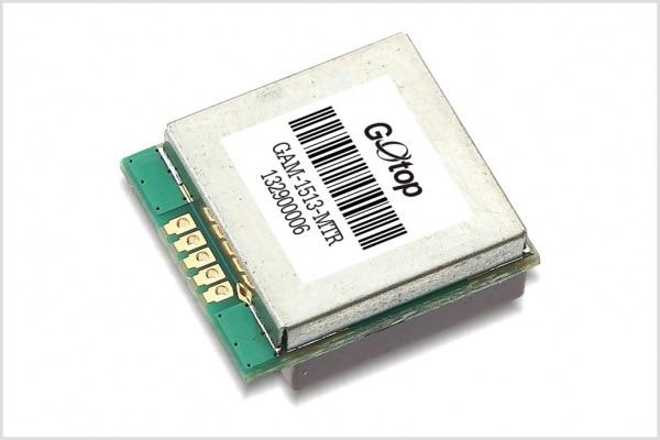 JINYUSHI para Gotop 15*13mm GAM-1513-MTR-165dBm MTK versión chip ROM construido en la antena gps MTK módulo GPS